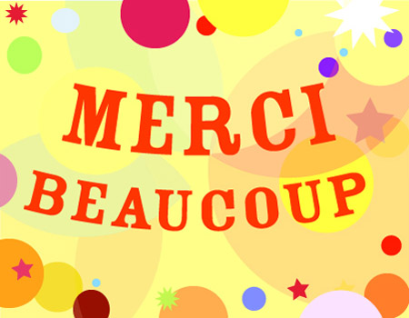 carte Merci beaucoup
