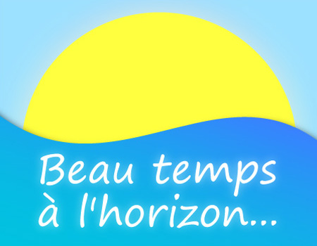 carte Beau temps à l'horizon !