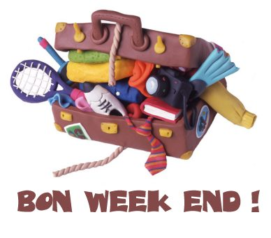 carte Bon week-end